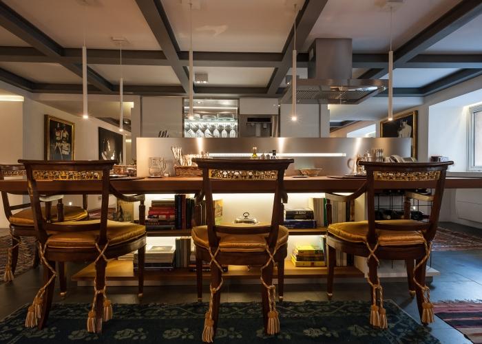 CCT Mobili arredamento in legno appartamento santa caterina