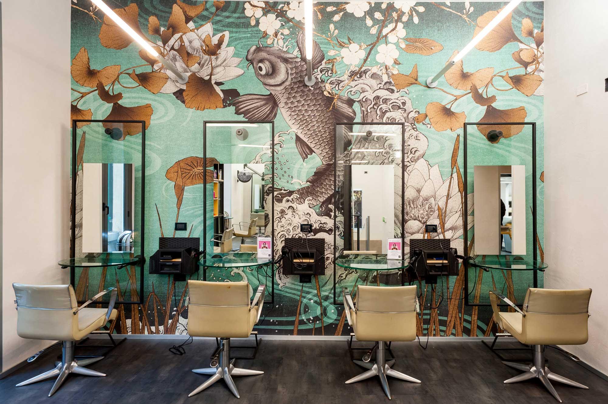 Equipe giorgio arredamento per parrucchieri salone di for Arredamento per parrucchieri